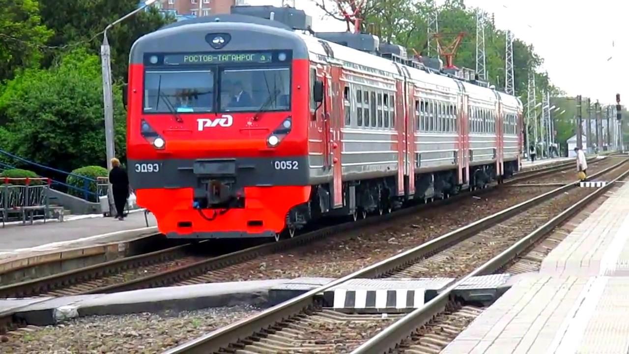 С 25 января для электрички Ростов — Таганрог добавят новую остановку