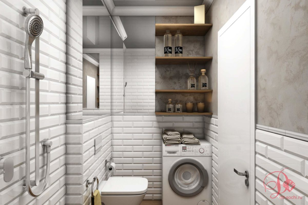 Визуализация маленькой квартиры 20 кв.