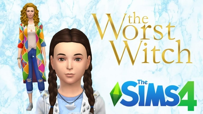 Hubble Family The Worst Witch Sims 4