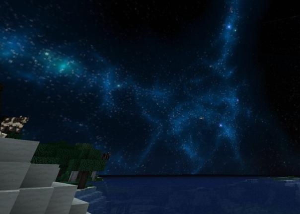 текстуры красивый космос небе для майнкрафт #3
