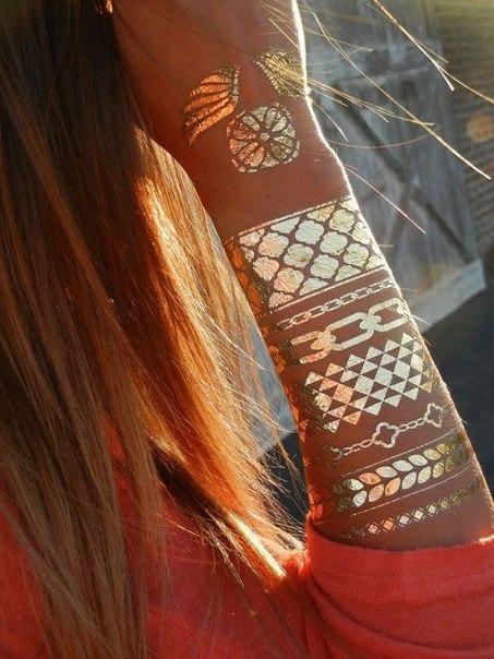 New Delhi: Флэш-тату металлик- в наличии Украина:http://www.newdelhi.com.ua/metallicheskie-flesh-tatu/.. РФ:http://www.shopindia.ru/xna-dlya-rospisi.html https://vk.com/tatu_xnoy▼ #Флэштату #Goldtattoo  #flashtattoo  #золотыетату #metallictattoo