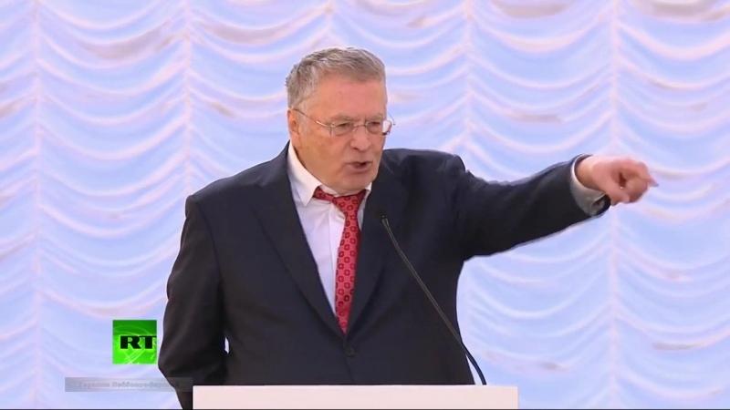 Речь Жириновского в Колонном Зале России нужно вернуть КГБ миллионы тайных агентов ГКЧП Царя и Советский Союз 20 11 2015