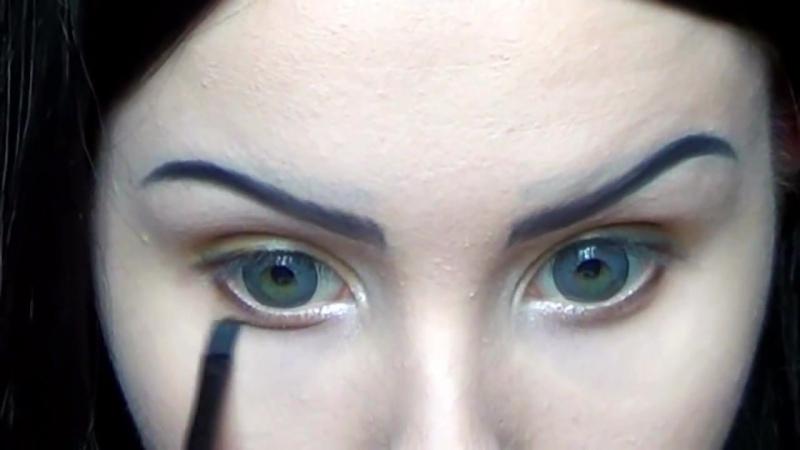 Megan Fox make up transformation by Anastasiya Shpagina 1