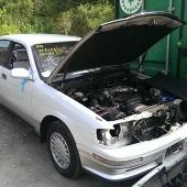 Распил Toyota Crown JZS143, 2JZGE во Владивостоке