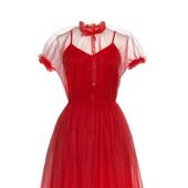 Платье Bella red