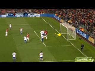 Манчестер Юнайтед - Базель. 1-0. Гол Феллаини. Лига Чемпионов 17/18
