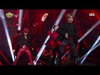 [RAW VK][] MONSTA X - Dramarama @ SBS Inkigayo
