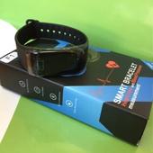 Фитнес браслет-часы + давление + пульс