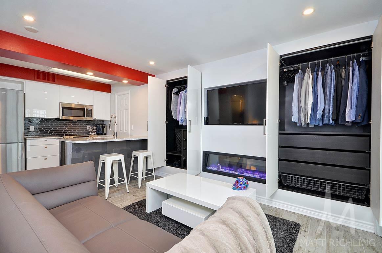 Квартира-студия в Канаде, метраж не указан.
