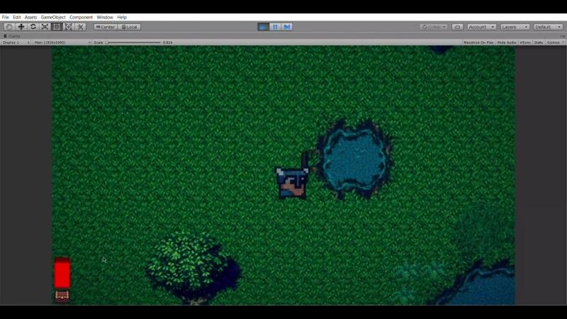 GameJam 2D Roguelike test demo