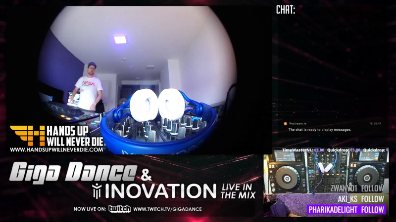 Giga Dance live in the Mix Vol 86 w iNovation HandsUp Hardstyle GER ENG