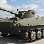 Катание на ПТ-76