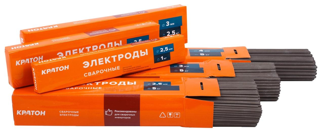 Почему стоит выбрать сварочные электроды «КРАТОН»?