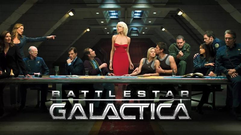 Звездный крейсер Галактика Battlestar Galactica 2004 2009