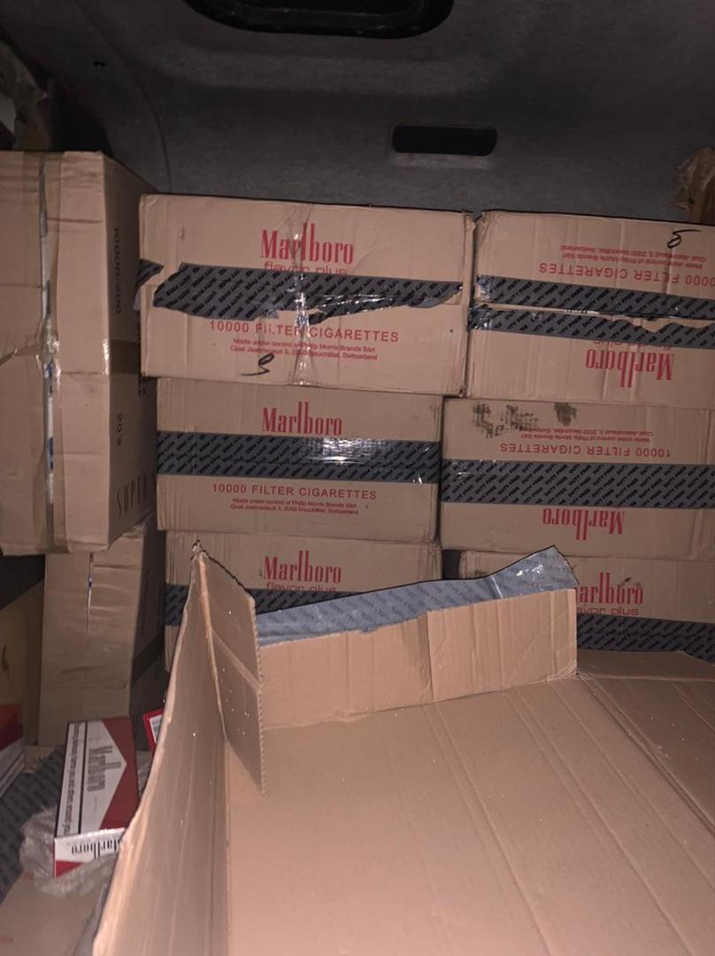 Под Таганрогом пограничники задержали контрабандную партию сигарет на 3,5 млн рублей