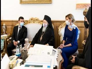 Вселенский патриарх планирует посетить Украину на День Независимости.