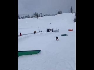 Когда решил освоить горнолыжный спорт