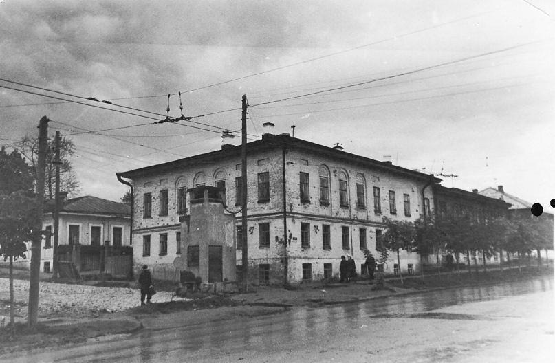 Дом Матанцева. 1959 г. Фото: А. Г. Тинский.