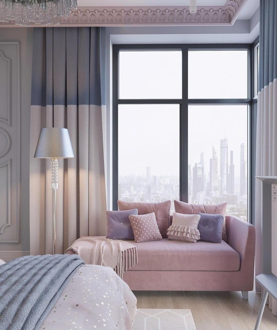 Шикарная комната с видом на Москва Сити