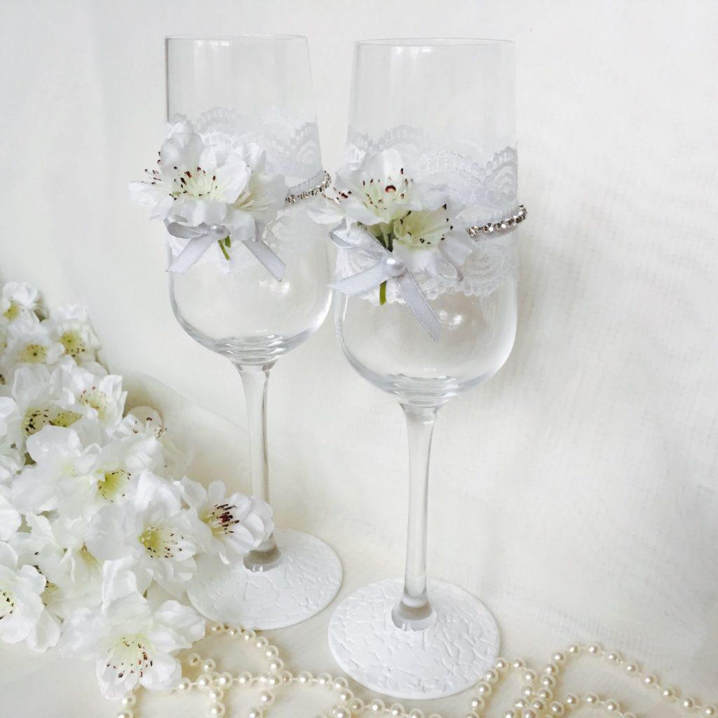 d1w WUpBegg - Красивые свадебные фужеры