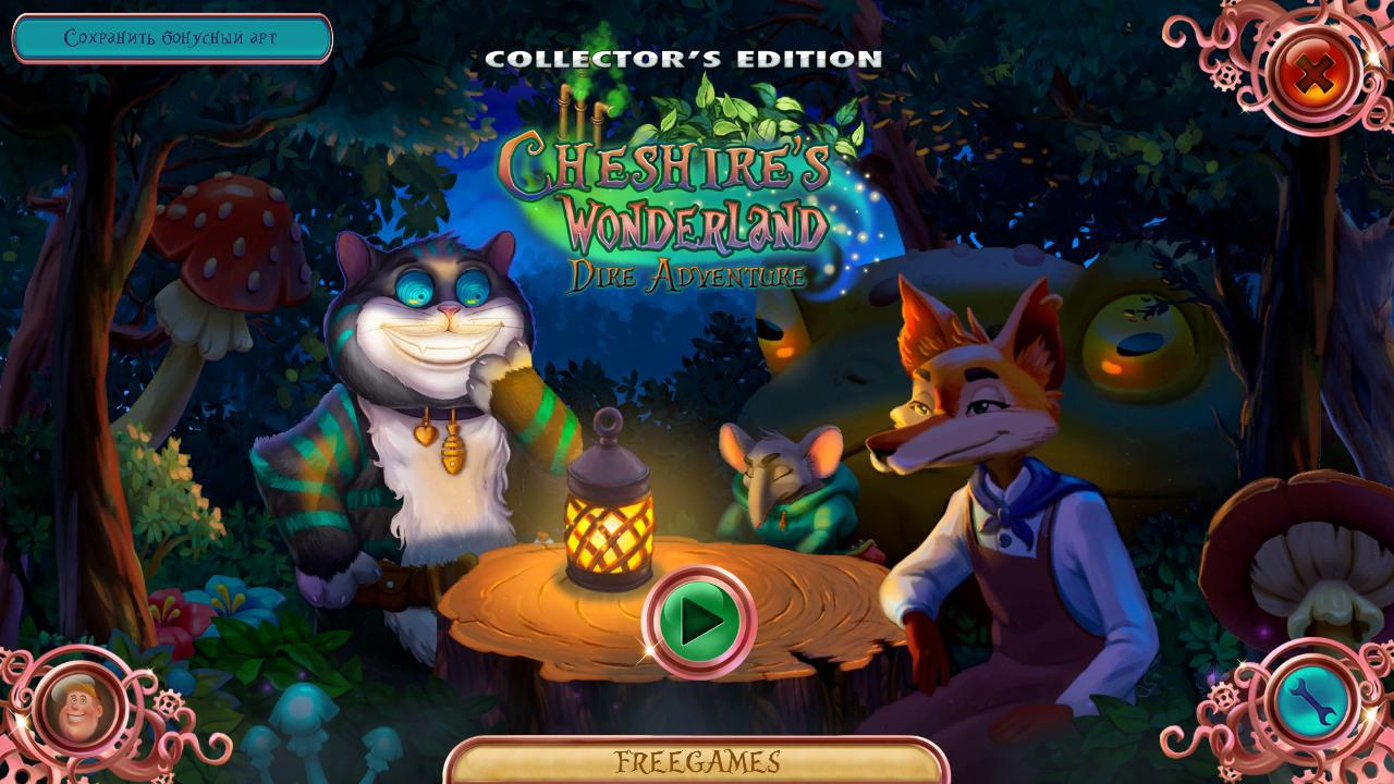 Cheshire's Wonderland: Dire Adventure CE Multi5 (Rus)