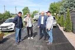 Ремонт дорог на контроле главы района