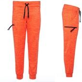 V1 оранж, флисовые штаны