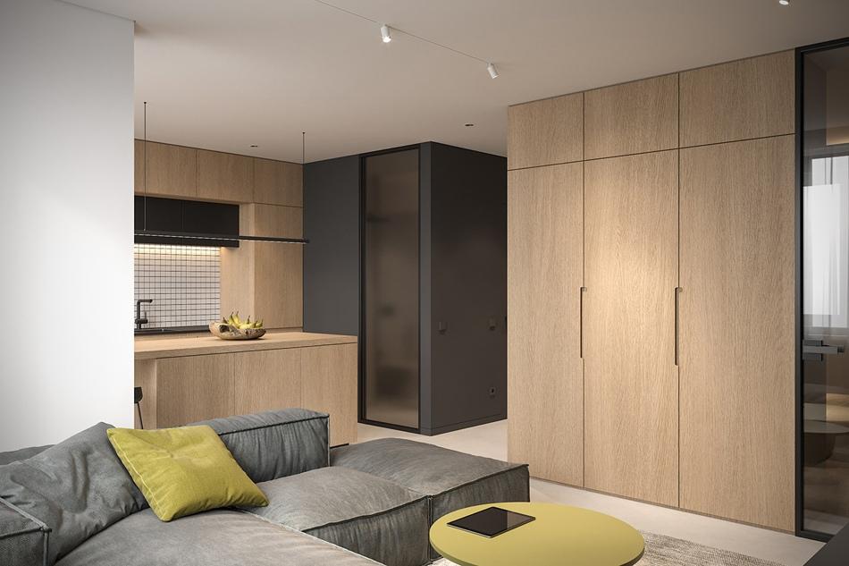 Проект квартиры 40 кв.
