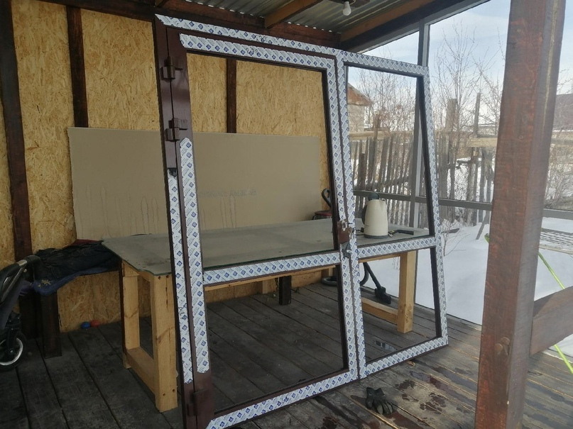 Купить дверь 2мх2м дверь без заполнения. | Объявления Орска и Новотроицка №28258