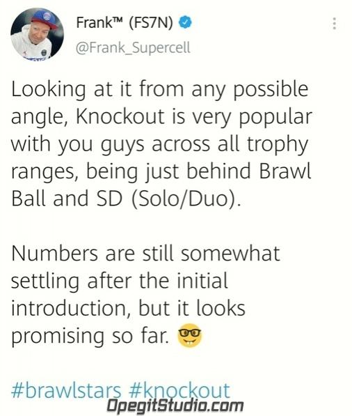 Фрэнк в Твиттере поделился информацией о Нокауте: «Как