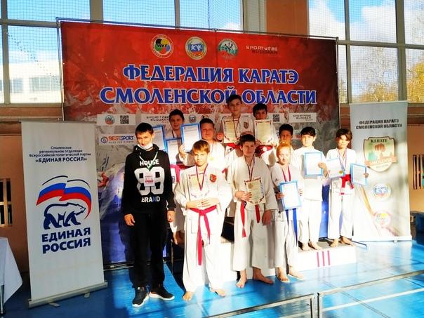 24 октября 2021 года в Смоленске прошли Первенство...