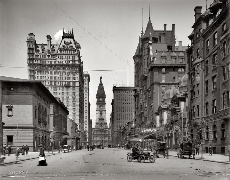HD-фотографии городов США сделанные в 1900-1915 годах, изображение №20