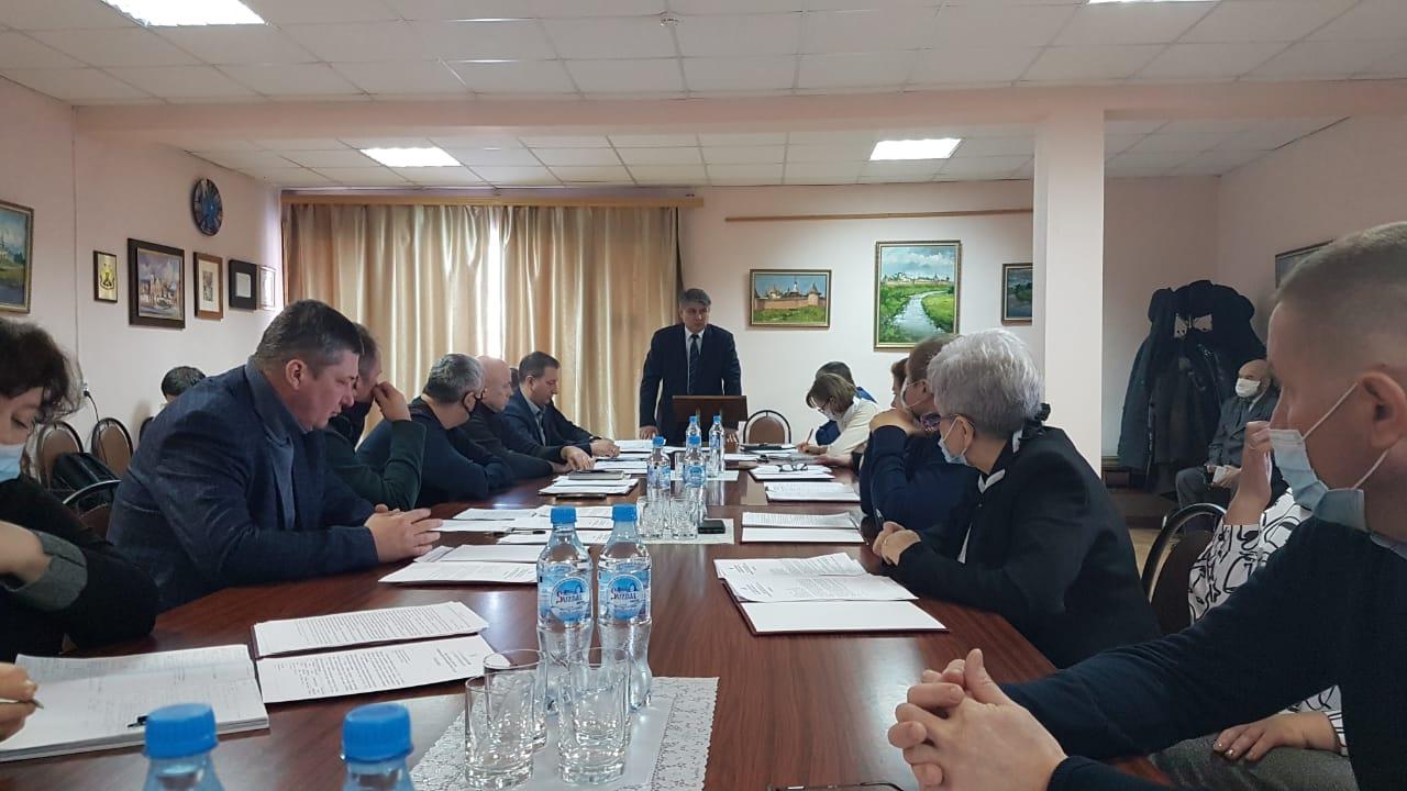 Совет народных депутатов города Суздаля собрался на очередное заседание 16 февраля 2021 года