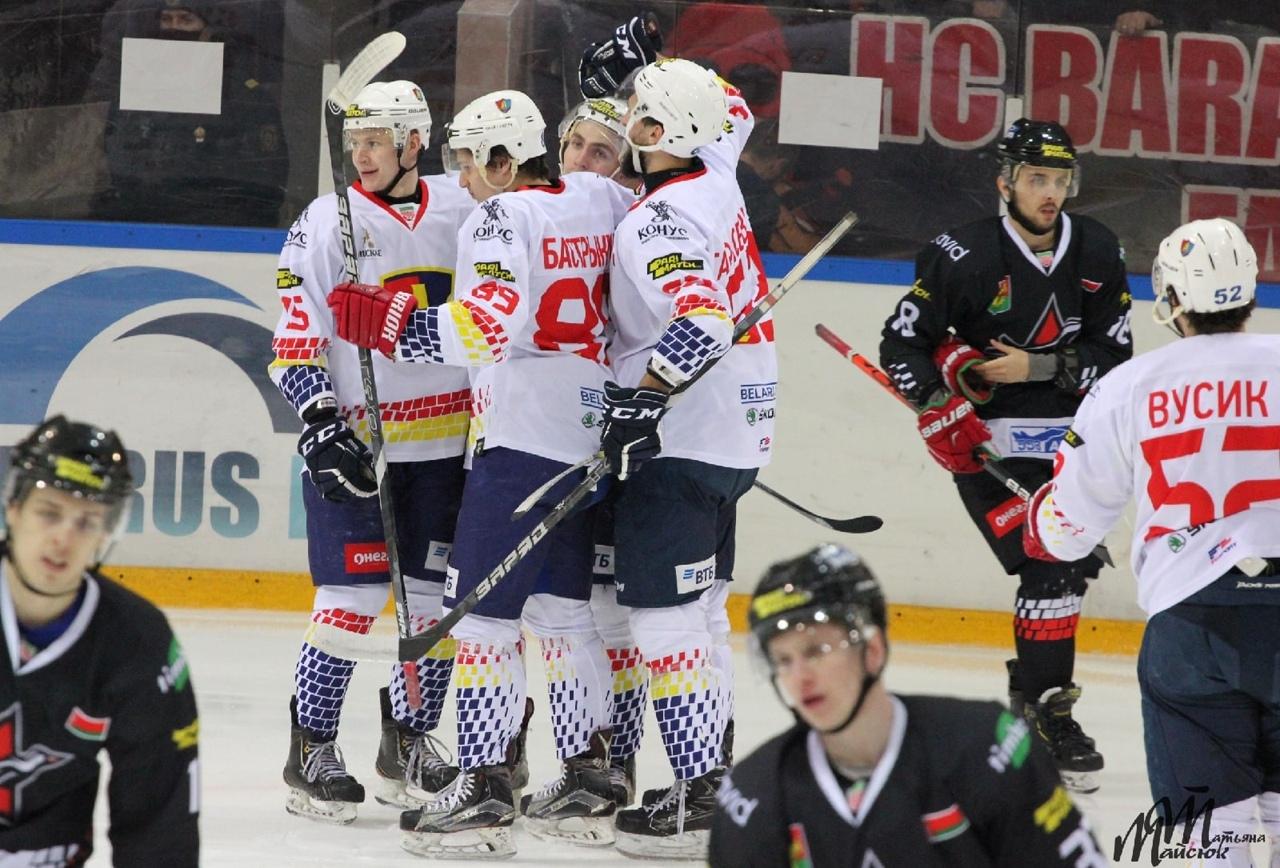 В заключительном матче уходящего года хоккейный клуб «Лида» обыграл на выезде барановичский «Авиатор».