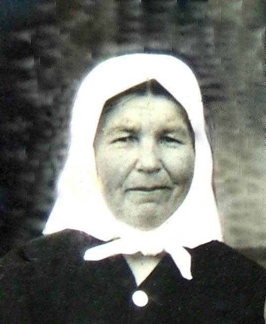 Прапрабабушка – Дмитриева Александра Григорьевна
