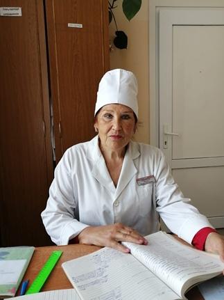 Обозная Лидия Николаевна – медицинская сестра, стаж 34 года.