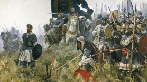 Сегодня в календаре - День победы русских полков в...