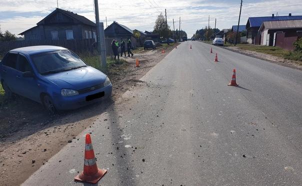 В Слободском районе «Лада Калина» насмерть сбила ж...