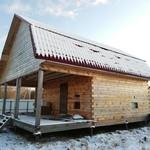Дом - не дострой на берегу р. Волхов в д. Шевелёво Новгородского района