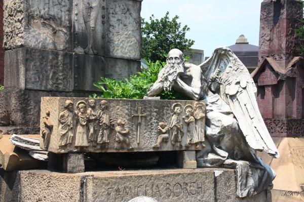 Монументальное кладбище, Милан, Италия