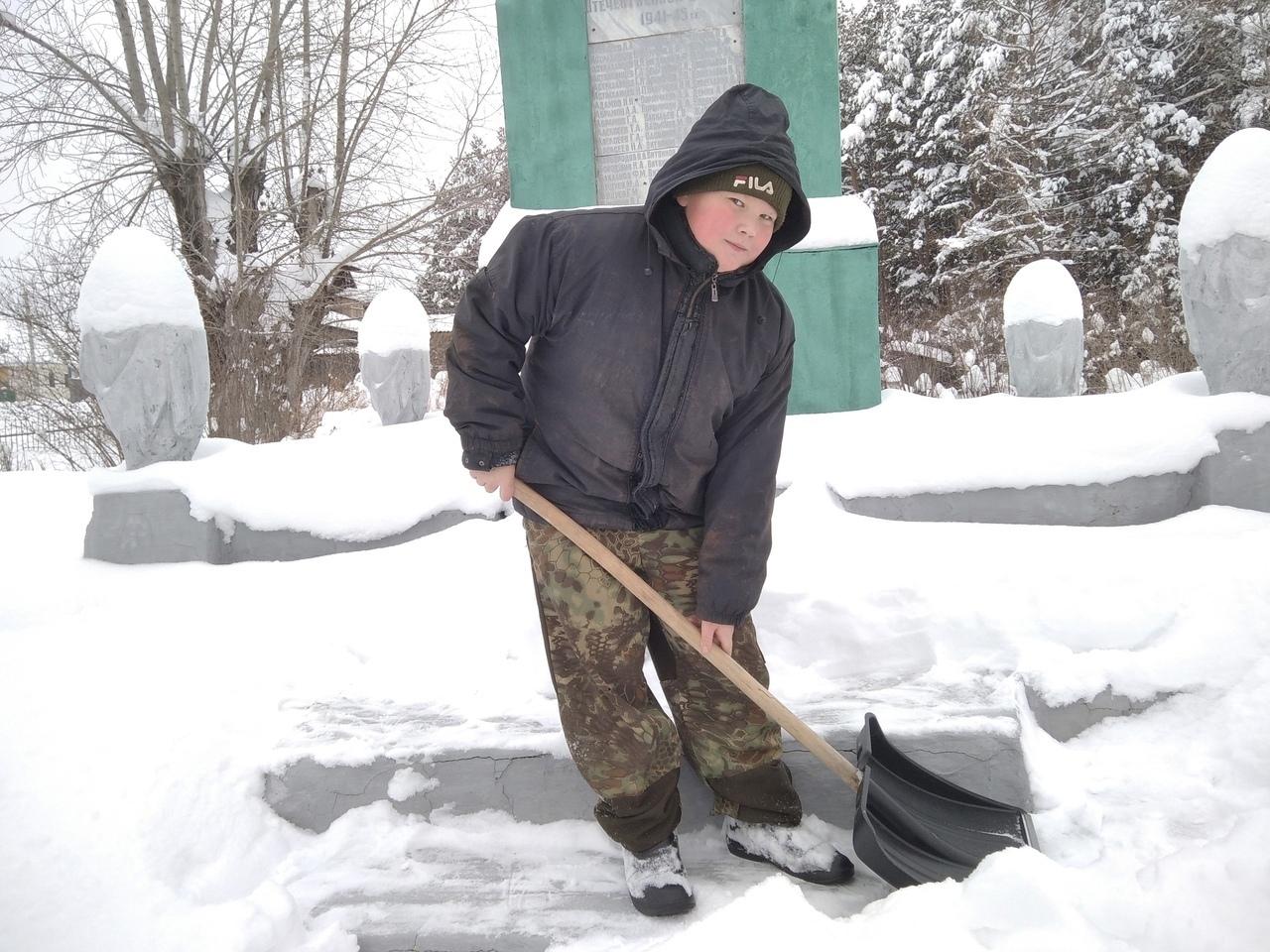 И снова добрые дела школьников Можгинского районаУченики