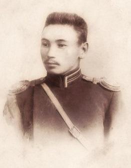 Подпоручик П.Г.Корнилов, 1903 г., фото из личного архива П.Селиванова