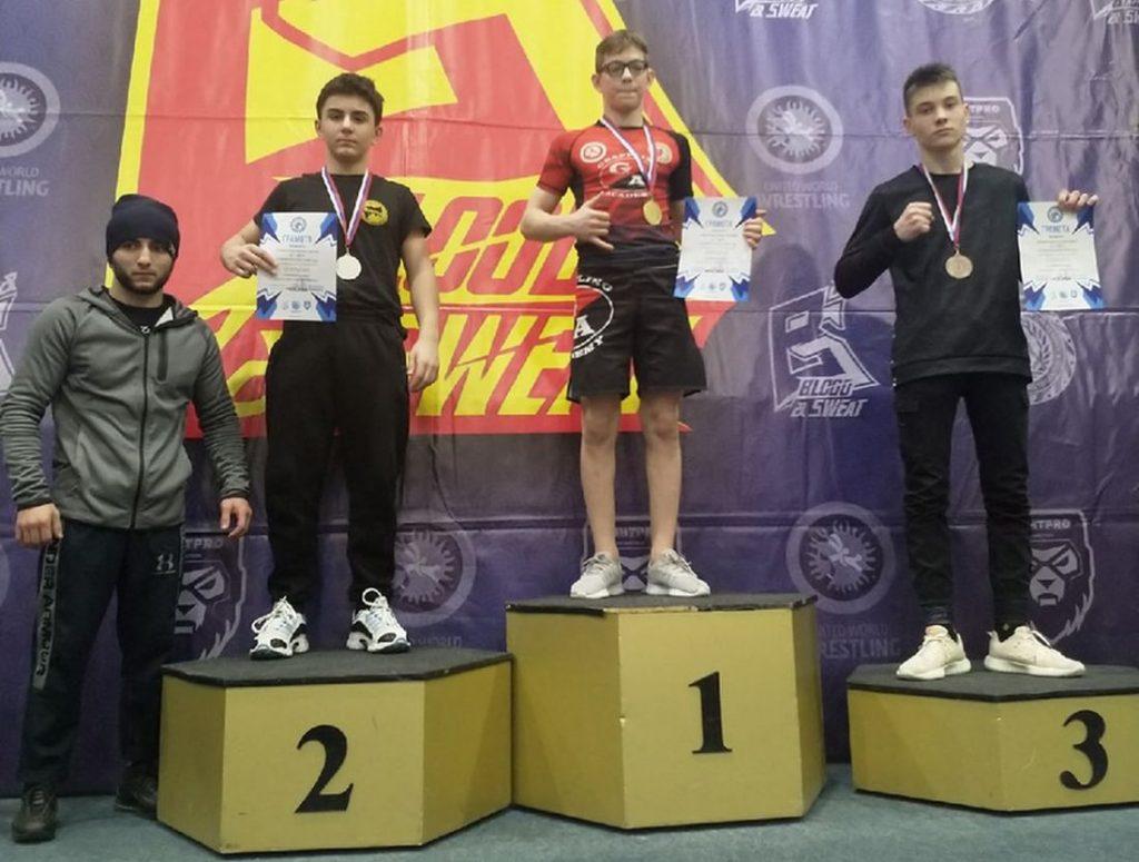 Кимрские спортсмены заняли призовые места на престижных соревнованиях по грэпплингу