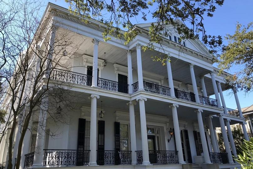 Район Гарден-Дистрикт Нового Орлеана, Луизиана.