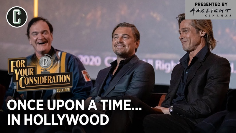 Leonardo DiCaprio, Brad Pitt, Quentin Tarantino Crew: Once Upon a Time in Hollywood - Collider FYC