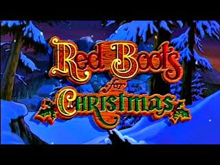"""""""Красные сапожки на Рождество / Red Boots for Christmas."""" (1995)  HD"""