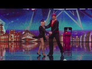 Spectacular Salsa - Paddy & Nico - Electric Ballroom - Britain's Got Talent 2014 (legendado)