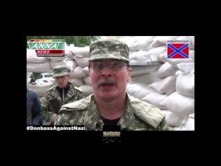 ЭКСКЛЮЗИВНОЕ ВИДЕО! Выступление Березина   Вся ПРАВДА о захвате воинской украинской части 26 июня! П