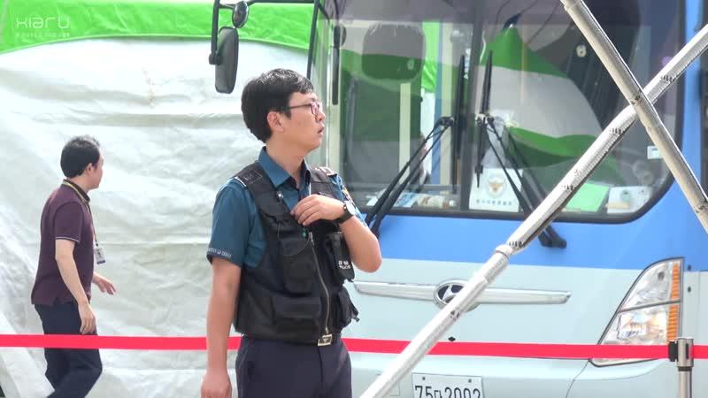170922 전곡항 안전문화페스티발 119 경기남부경찰 홍보단 무대 뒤 준쮸 모음 김준수 XIA Junsu ジュンス