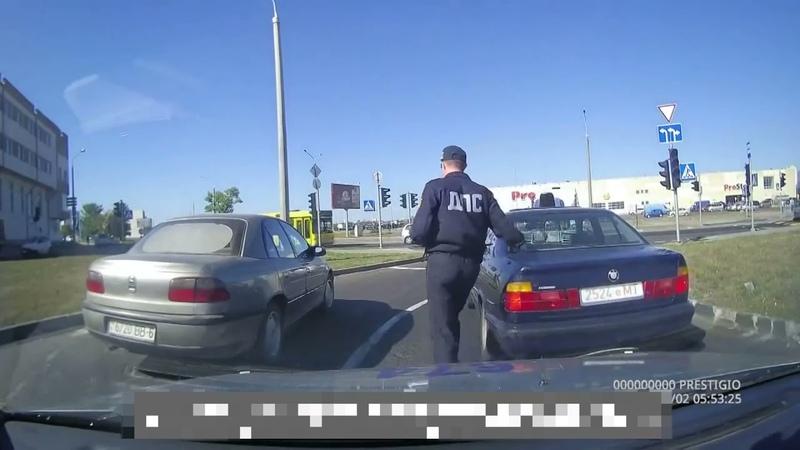 Погоня за BMW 99года выпуска Минск Беларусь